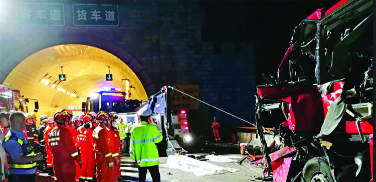 36 killed in China bus accident