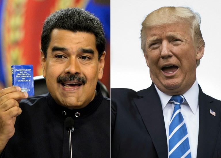 'Trump will speak to Maduro when democracy is restored'
