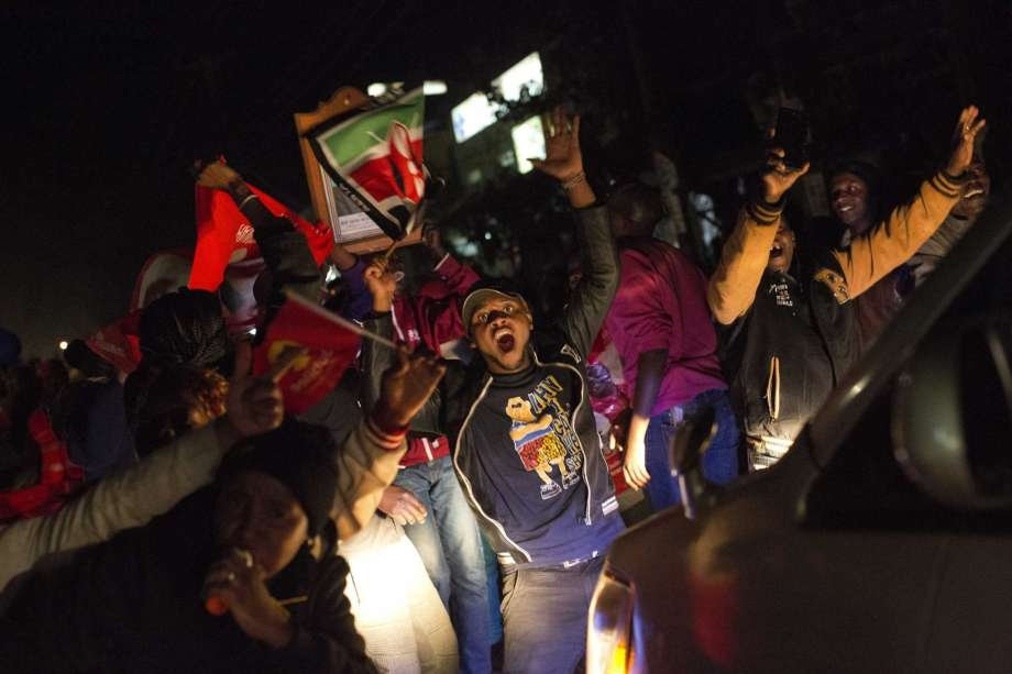2 killed in Kenya protests after president wins 2nd term