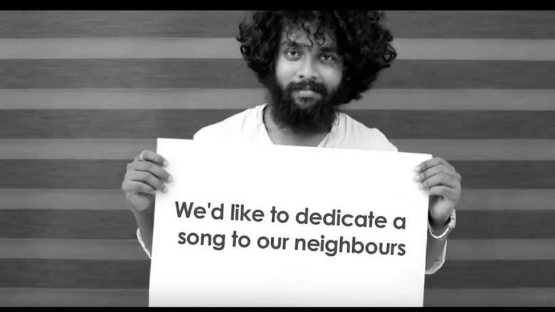 [WATCH]: Indian band sings Pakistan's national anthem