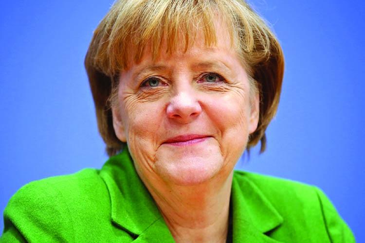 Angela Merkel embarks on strangest campaign
