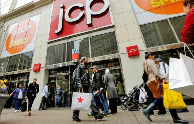 JC Penney hits record low on wider loss
