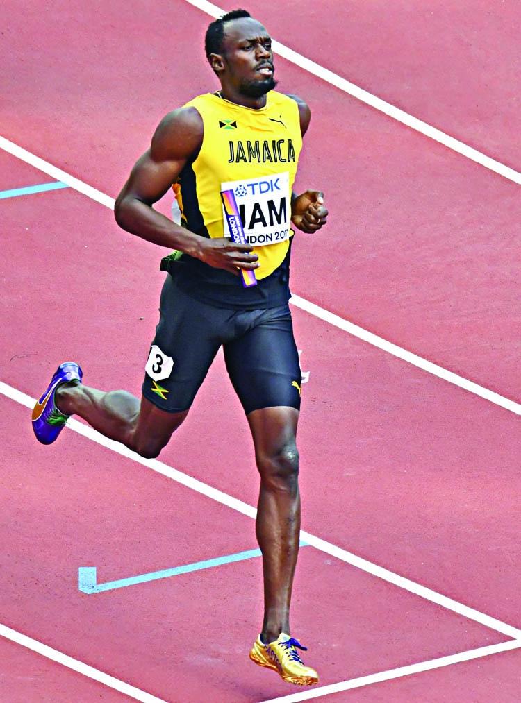 Bolt leads Jamaica into final