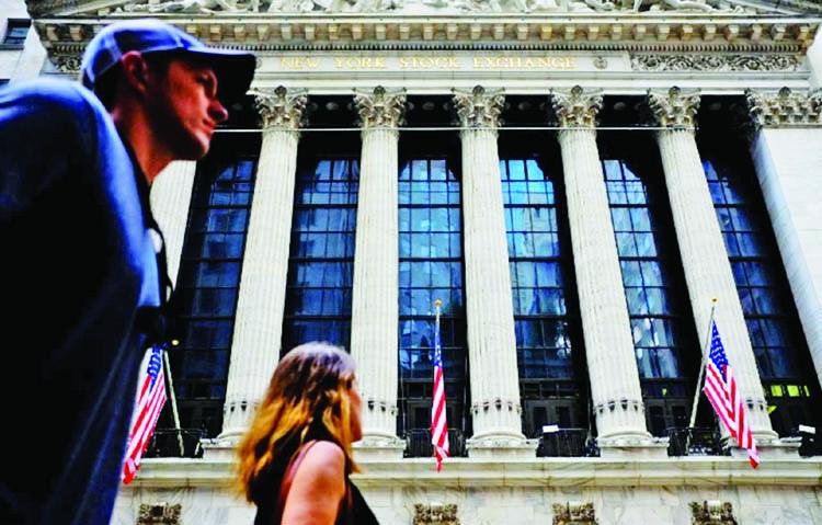 Global stocks selloff stops at Wall Street