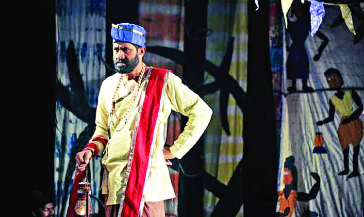 Kinu Kaharer Thetar satires the political leadership