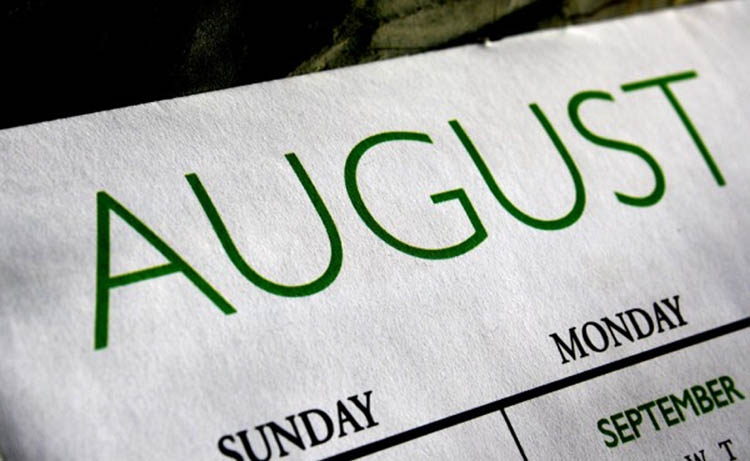 The chronicles of August