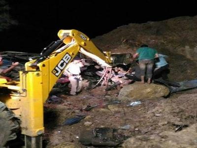 45 killed in landslide in India