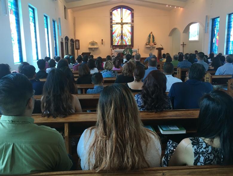 Devoutly Catholic Guam celebrates Mass amid N Korea threat
