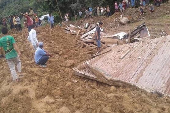 6 dead, dozens missing, in Indian landslide