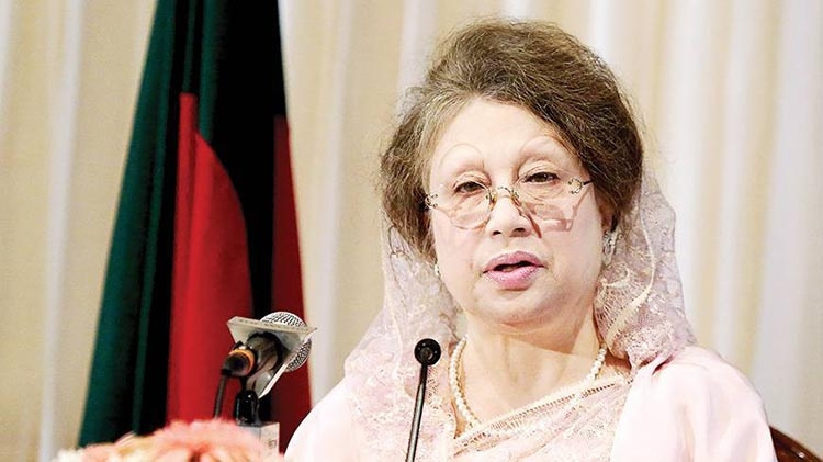Stand by flood victims, Khaleda to BNP followers