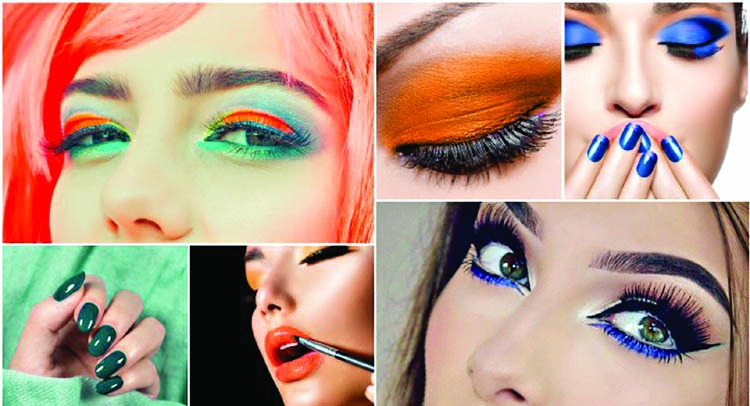 Get that perfect tri-colored make-up look