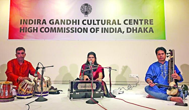 Rabindra Sangeet and Tabla recital at Nat'l Museum