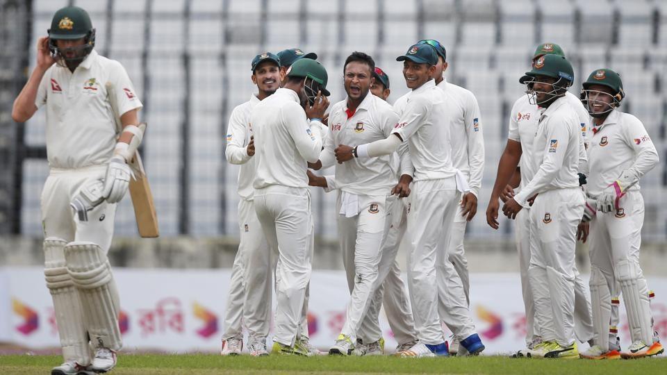 Bangladesh all wickets against Australia