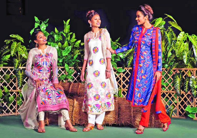 Fashion houses saturated with new collection for Eid