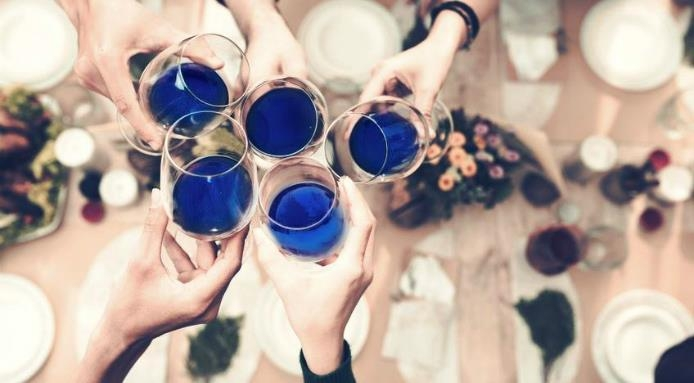 Blue Wine is the Next Big Trend to Look Out For!