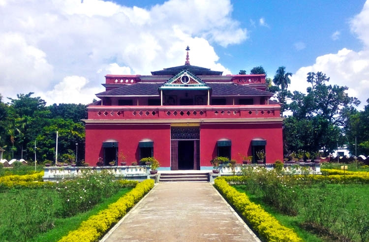 Famous residence of Rabindranath Tagore