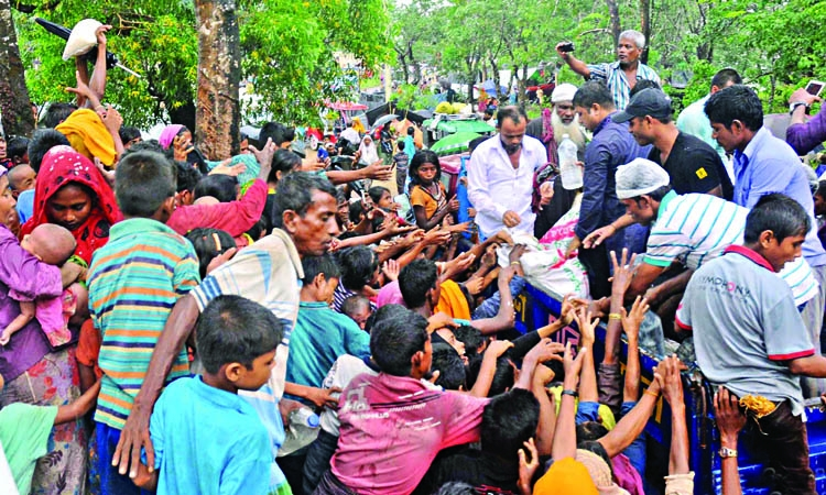 Rohingyas to be registered biometrically: Minister