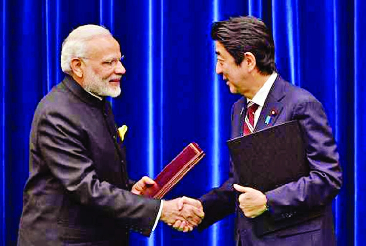 Modi, Shinzo Abe to set direction of ties