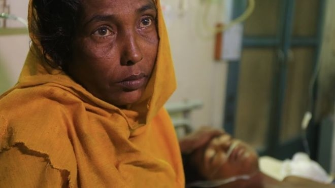 Rohingya civilians 'maimed by landmines'