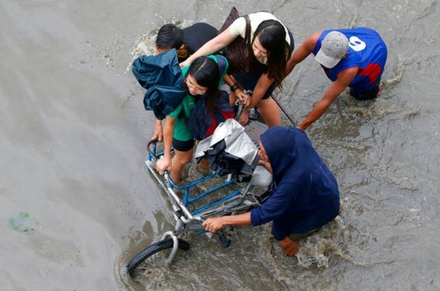 3 dead, 6 missing, as storm hits Philippines
