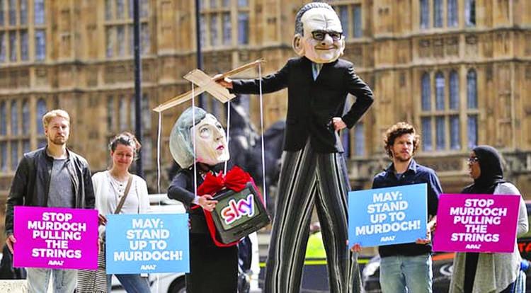 Murdochs' Sky takeover bid  set to be under watchdog