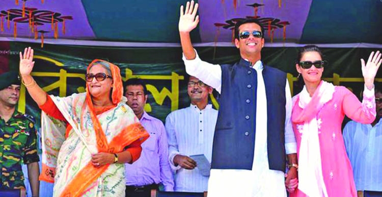Sajeeb Wazed Joy: A simulacrum of an opulent future of Bangladesh