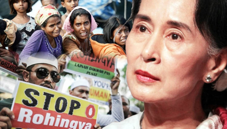 Suu Kyi's silence on Rohingya issue