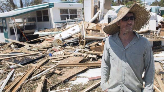 Quarter of Florida Keys homes 'destroyed'