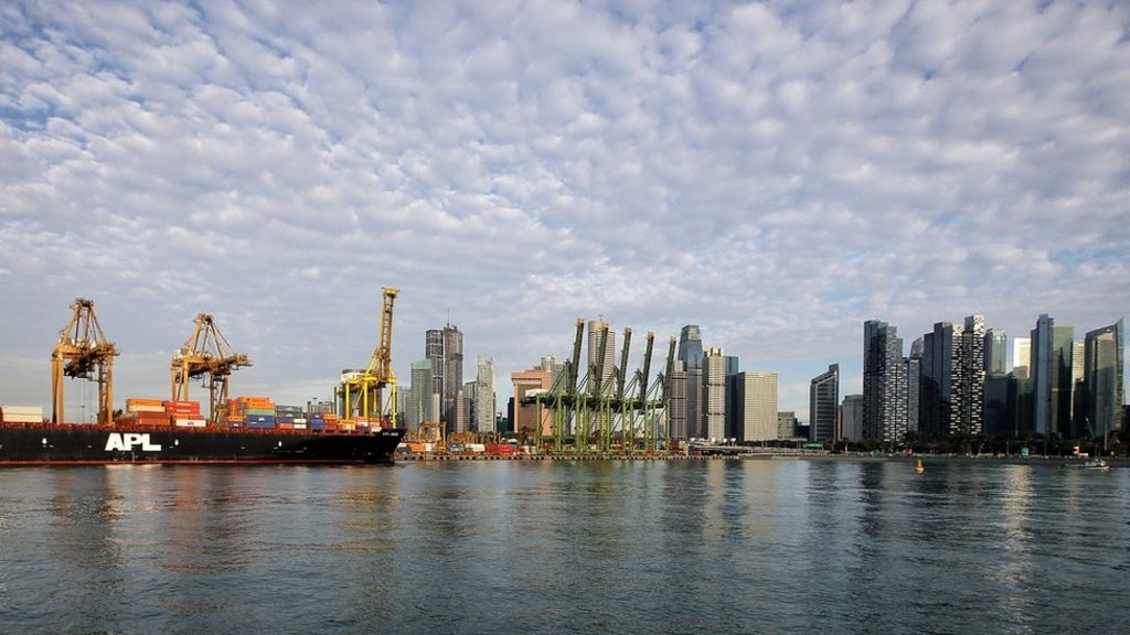 Five missing after Singapore ship collision