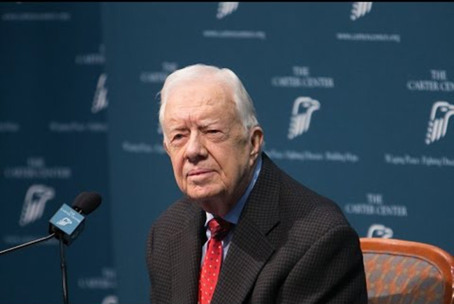 Jimmy Carter to Trump, 'Keep the peace ... tell the truth'
