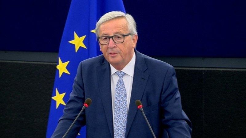 Wind back in Europe's sails - Juncker