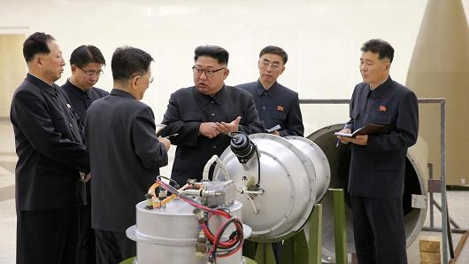 Radioactive gas found after N Korea bomb test