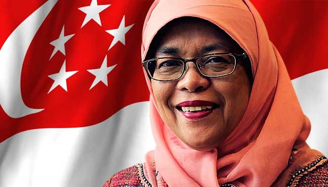 Singapore gets first woman president