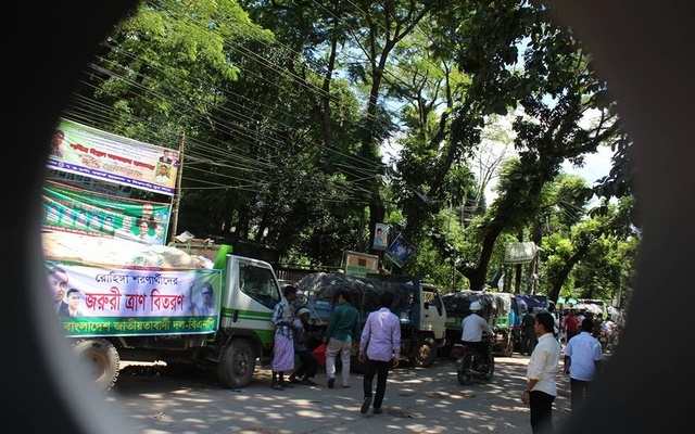 Police 'block' BNP relief convoy at Ukhia