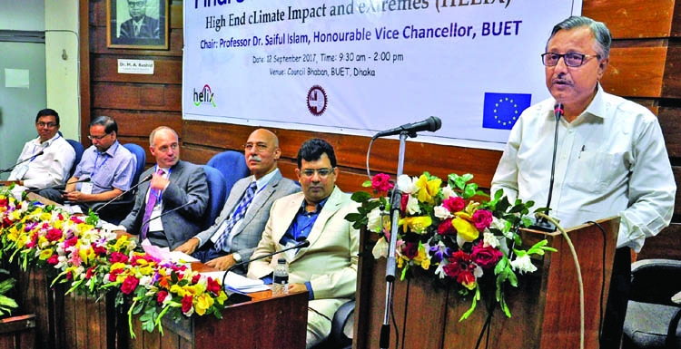 Workshop on climate impact held at BUET