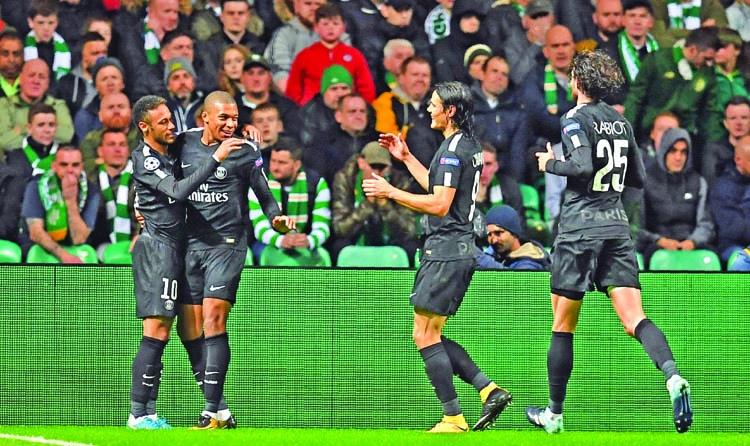 PSG win Champions league opener