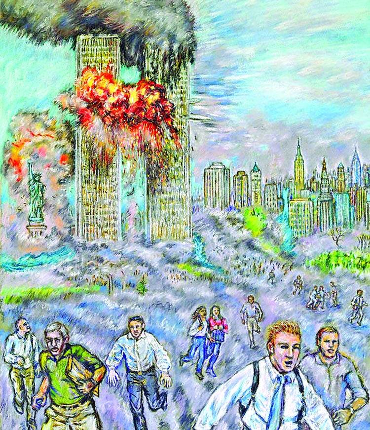 The unsettling arrival of speculative 9/11 fiction