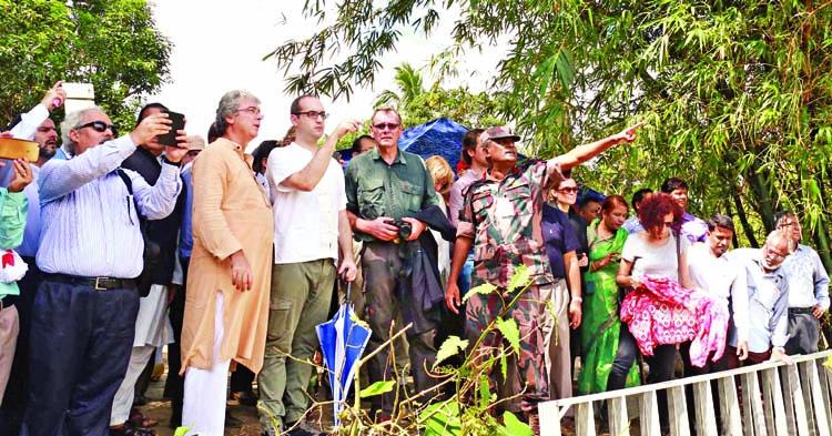 Dhaka based diplomats  visit Rohingya camps