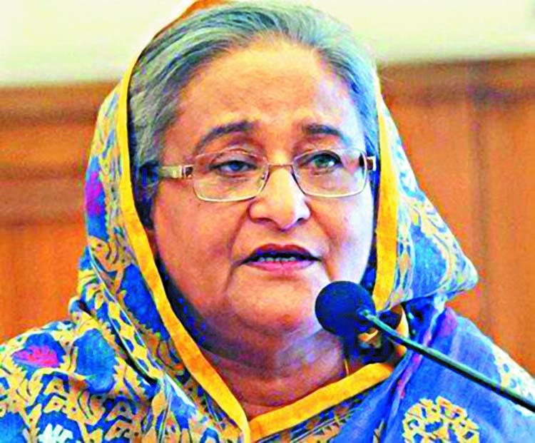 Hasina shortlisted for Nobel Prize