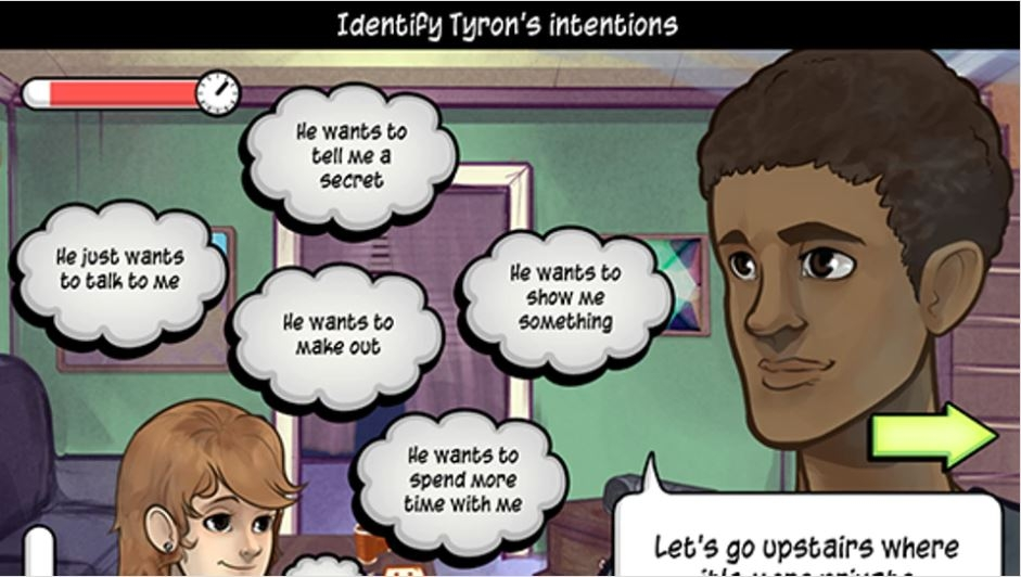This video game helping teenagers understand sexual health better