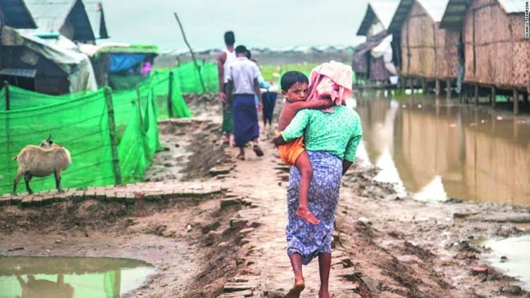 Tk 40 crore for roads in Rohingya camps