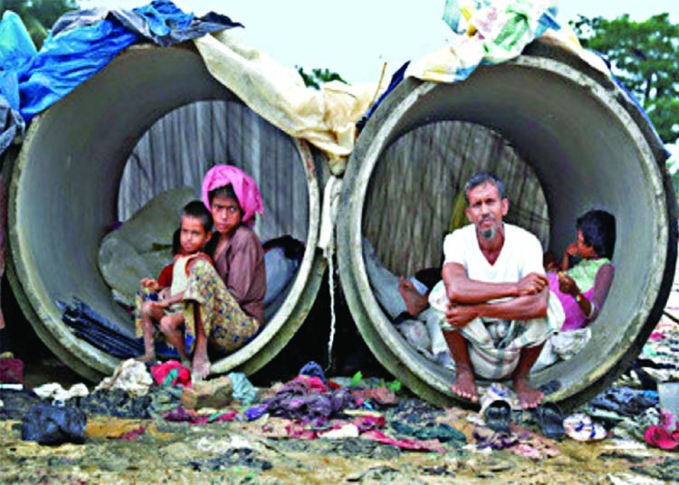 Army steps in to help Rohingyas