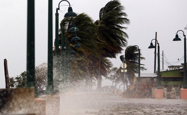 'Storm of the century' Maria pummels Puerto Rico