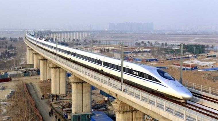 China runs world's fastest commercial bullet train at 350 kmph