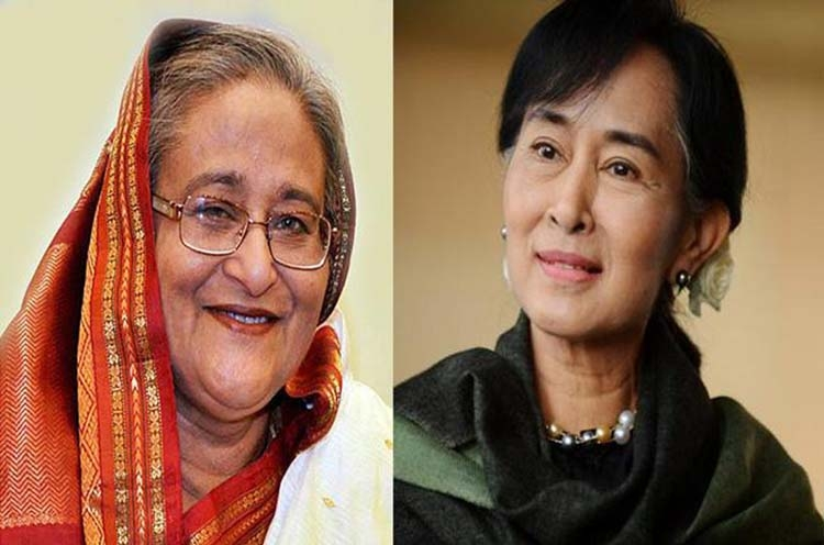 Hasina and Suu Kyi: Peace versus conflict