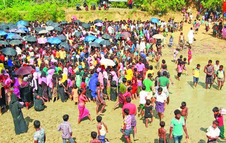Gayeshwar against sheltering Rohingyas permanently