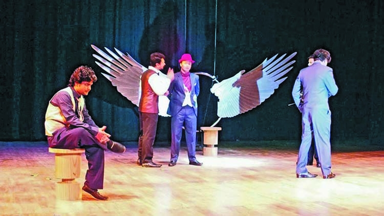 Theatre Art Unit stages Morshokam