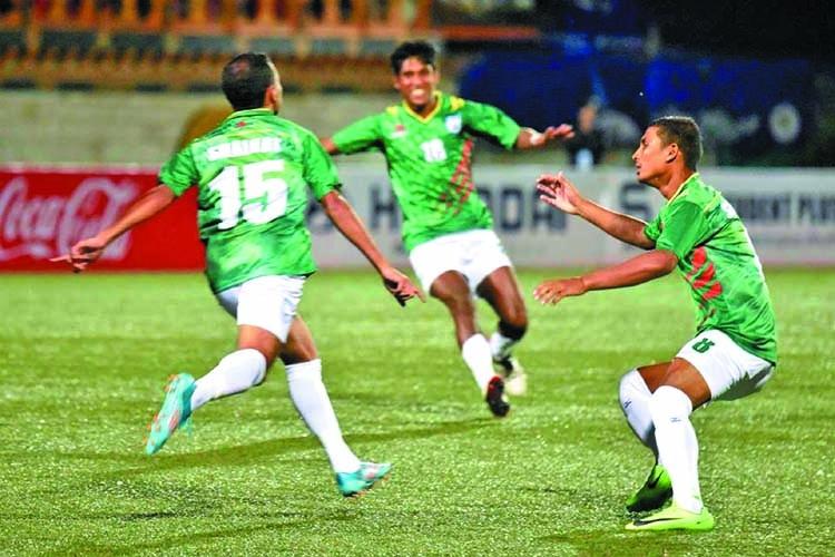 Bangladesh brush aside Maldives in SAFF U18