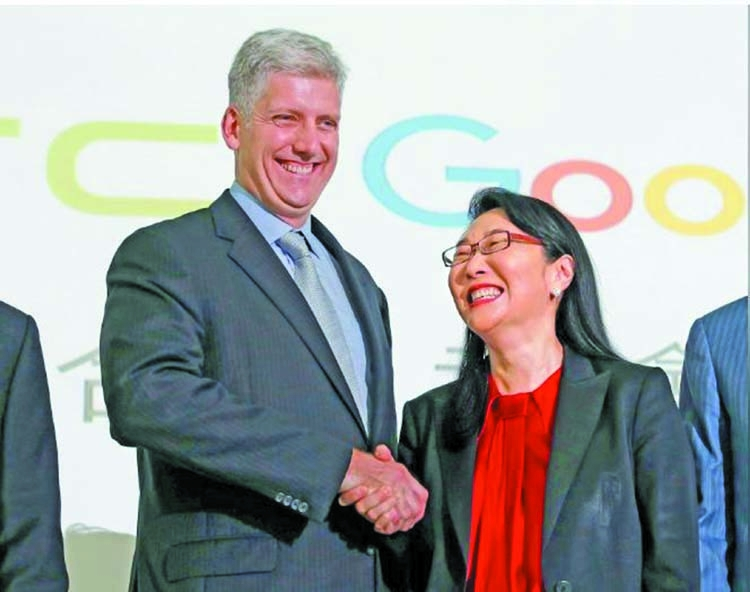 Google to buy part of HTC