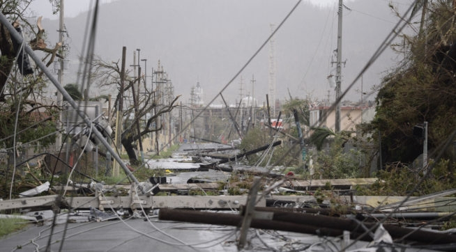 Puerto Rico faces weeks without electricity